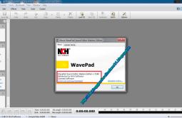 WavePad Sound Editor 8.01