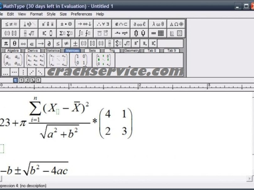 MathType 7.4.4 Build 516 Crack + Product Key 2020 Download