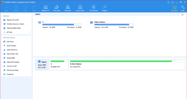 AOMEI Partition Assistant Keygen [Tested] Free Download