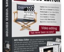 AVS Video Editor 8.1.1.311 Crack Keygen + Serial Key Download