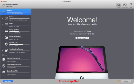 CleanMyMac 3 Activation Code for Mac