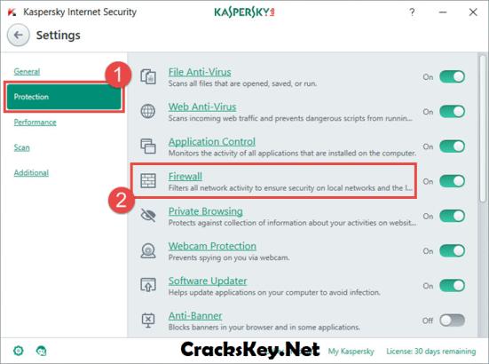 Kaspersky Internet Security 2018 Activation Code & Crack