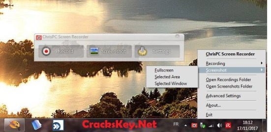 ChrisPC Screen Recorder Serial Key