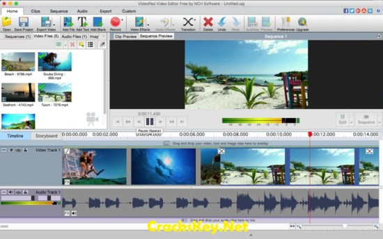 NCH VideoPad Video Editor professional Registration Code