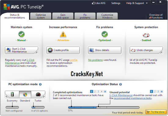 AVG TuneUp Utilities 2019 Keygen