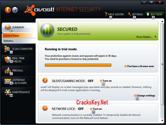 Avast Internet Security 18 License Key