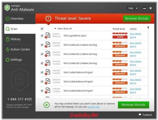 Auslogics Anti Malware Registration Key