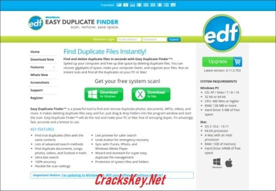 Easy Duplicate Finder Keygen
