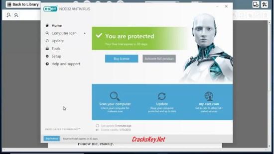 ESET NOD32 Antivirus 2019 License Key