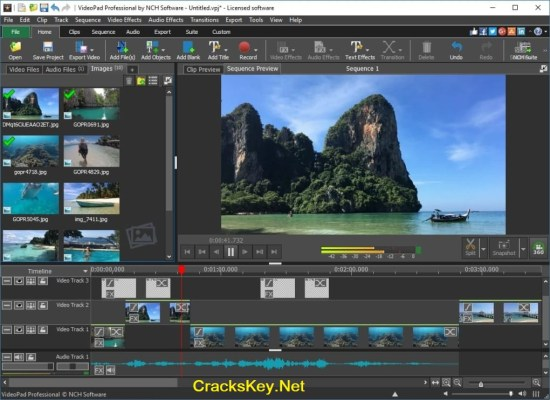 VideoPad Video Editor Pro Serial Key