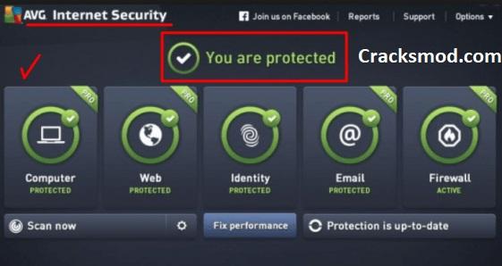 AVG Internet Security 2019 crack Key