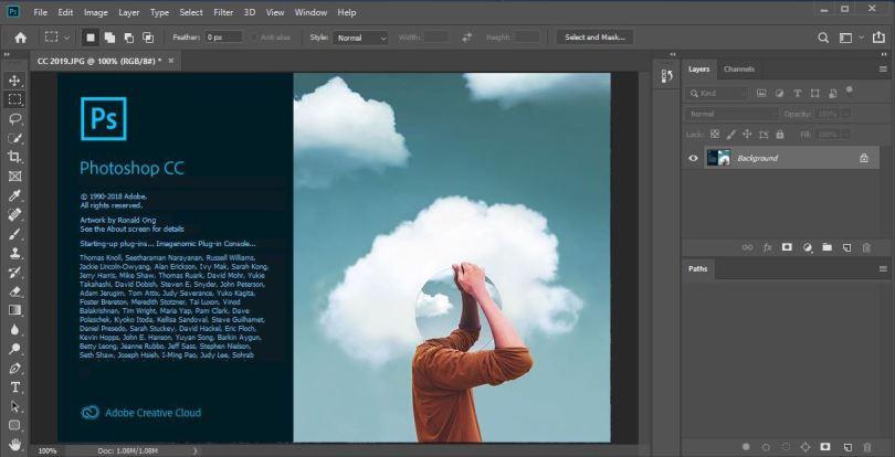 Adobe Photoshop CC 2021 v22.1.0.94 (x64) With Crack Full [Latest]