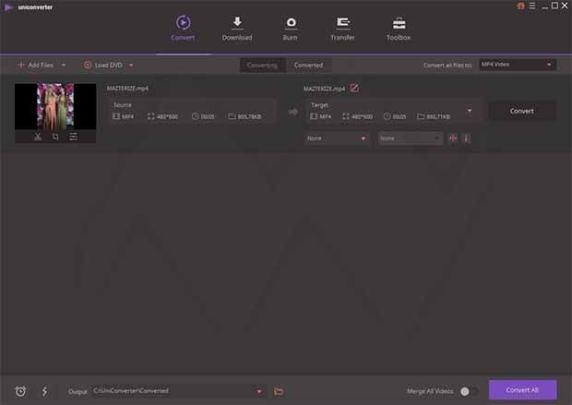 Wondershare UniConverter 12.5.5.12 Crack With Product Key 2021
