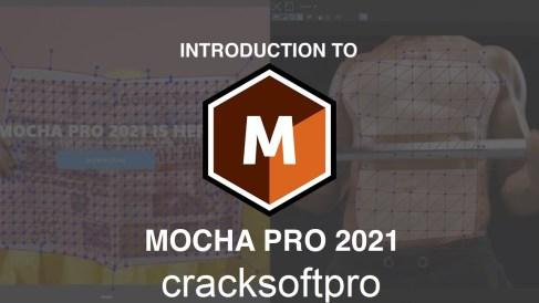 Mocha Pro 2021 v8.0.1 Crack With License Number Free Download