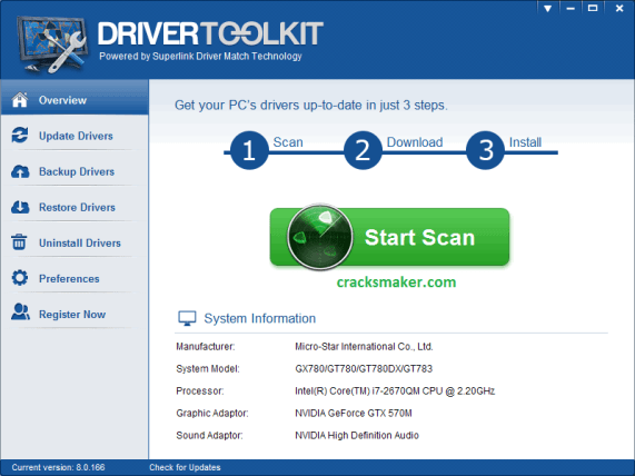 Driver Toolkit 8.5 Key + Crack 100% Working