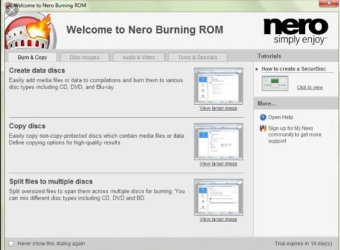 Nero Burning ROM 22.0.00700 Crack + Serial Key Full Version