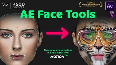 VideoHive 24958166 AE Face Tools V2 Free Download