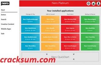 Nero Platinum 23.5.1010 Crack With Latest Version Free Download 2021