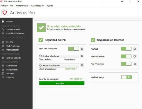 Avira Antivirus Pro Serial Key