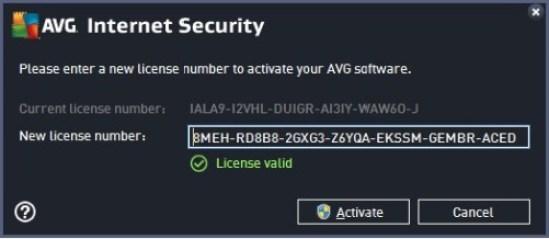 AVG Internet Security 2017 License Key
