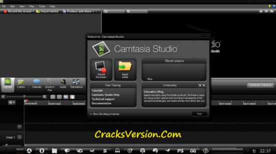 Camtasia Studio 9 Crack with Serial Key Full Free Download