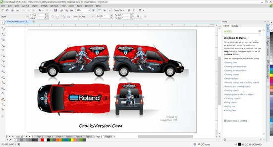 Corel Draw X7 Crack Keygen Full Version Free Download