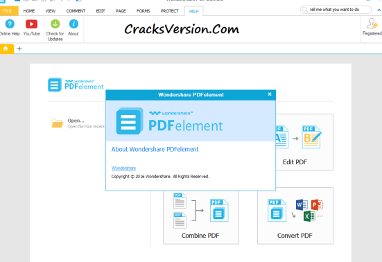 WonderShare PDFelement Pro Crack Download
