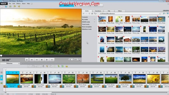 MAGIX Photostory Deluxe 2018 Crack Full Version Download