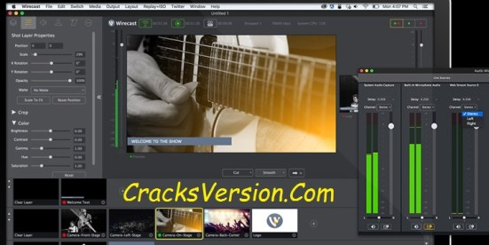 Wirecast PRO 8 Crack with Serial Number Full Free Download