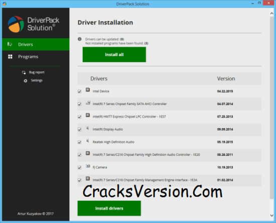 DriverPack Solution 2018 ISO Latest Full Free Download