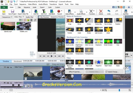VideoPad Video Editor Professional Serial Key