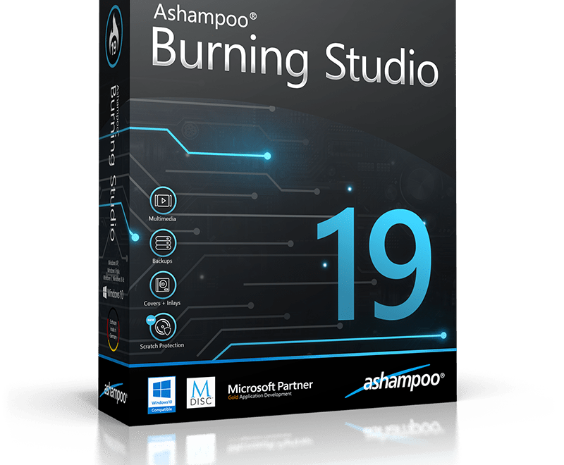 Ashampoo Burning Studio 19 Serial Key