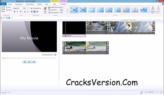 Windows Movie Maker 2018 Crack