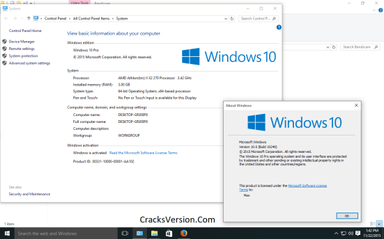 Windows 10 PRO Activator Free Download