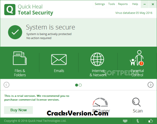 Quick Heal Total Security License Key