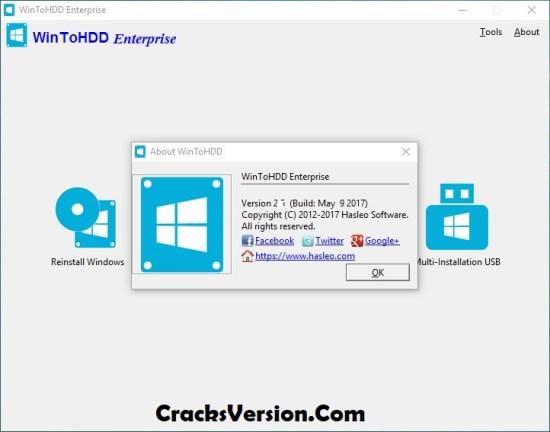 WinToHDD Enterprise Full Version