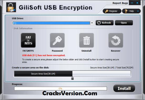 Gilisoft USB Encryption Serial Key