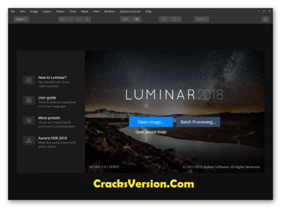 Luminar 2018 Crack