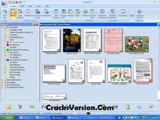 Nuance PaperPort Professional 14.5 Crack