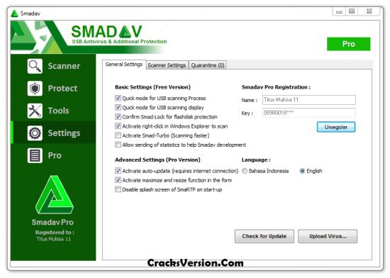 Smadav Pro Registration Key