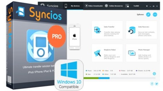 Syncios Manager Ultimate Crack 6.2.5
