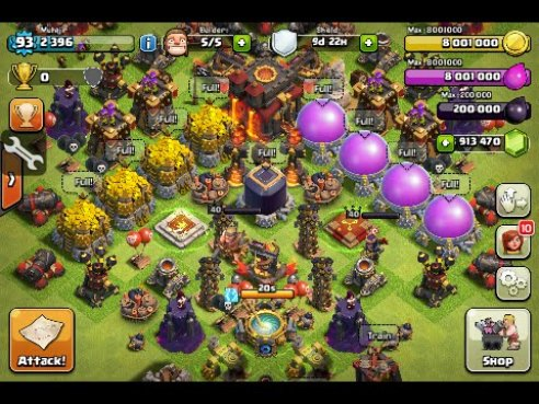 clash of clans mod apk download new update
