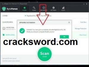 ByteFence 5.7 Crack + Key Full Version Free Download 2021