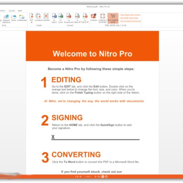Nitro Pro Enterprise 13.33.2.645 Crack + Serial Key Latest