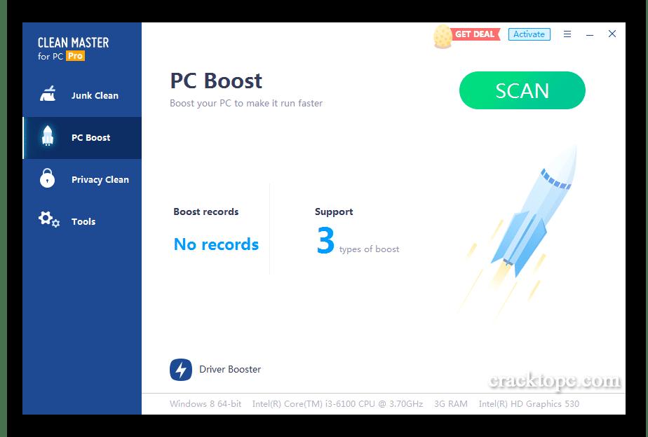 Clean Master Pro Serial Key full version