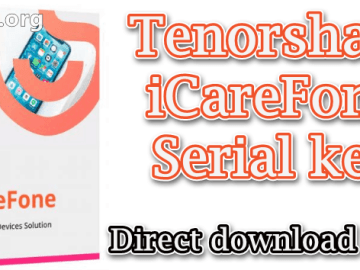 Tenorshare iCareFone Pro 6.0 Crack Free download