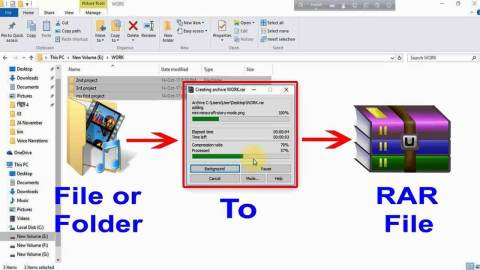WinRAR Crack 6.01 Final + Key Free Download