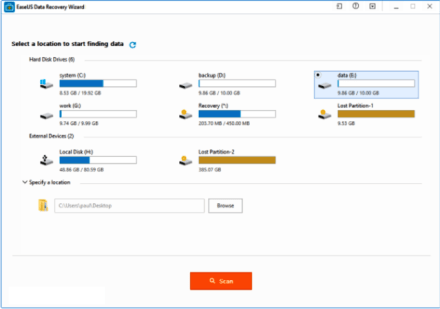 Easeus Data Recovery Wizard 13.6 Crack With License Code [2020]