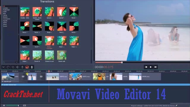 Movavi Video Editor 14.5.0 Crack With Activation Key {Latest}
