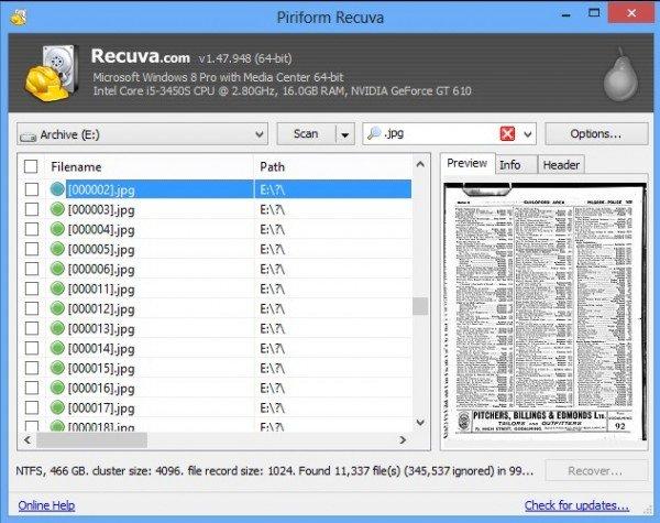 Recuva Pro 1.53 Crack + Keygen {Serial Key} Full